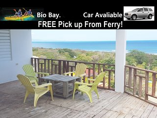 Ocean View & Beach house up to 13! Car avaliable ! Free Beach Chairs, Cooler - Isabel Segunda vacation rentals