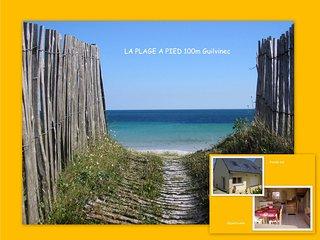 """"""" LA PLAGE A PIED"""" ~ 100m ~ Guilvinec ~ BRETAGNE - Le Guilvinec vacation rentals"""