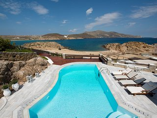 Alemagou® Mansion, Beachfront 1,000sq.m, sleeps 22 - Ftelia vacation rentals