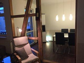 Sonnige Wohnung Nähe Zentrum free Wifi & parking - Jena vacation rentals