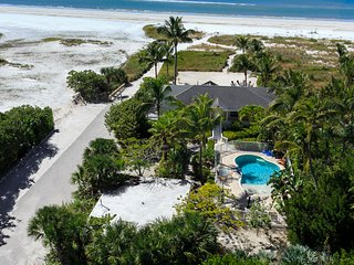 Luxurious Beachfront Home  with Guest Cottage,  Heated Pool and Private Beach - Fort Myers Beach vacation rentals