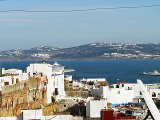 Traditional, 2-bedroom house in the heart of Old Town Tangier with a terrace overlooking the sea! - Tangier vacation rentals