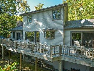 Expansive decks with lake views, plus a convenient location! - Swanton vacation rentals