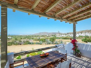 Gorgeous villa in sunny Agios Arsenios overlooking the plains and featuring a furnished balcony! - Plaka vacation rentals
