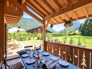 Chalet Sanamanda - a 5-bedroom chalet with mountain views and a terrace – 2km from the slopes! - Saint Jean d'Aulps vacation rentals
