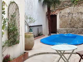 Traditional, 4-bedroom house in Céret with a swimming pool, furnished terrace and fenced garden! - Ceret vacation rentals