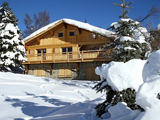 Chalet with 6 rooms in Les 2 Alpes, with wonderful mountain view, balcony and WiFi - Les Deux-Alpes vacation rentals