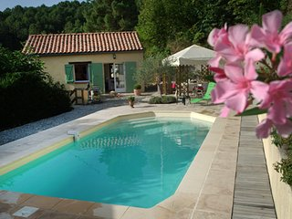 Quaint, 2-bedroom house in Les-Salles-du-Gardon with a furnished terrace and a swimming pool! - Les Salles Du Gardon vacation rentals