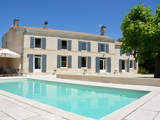 Gorgeous 4-bedroom villa in Saint-Georges-du-Bois with a heated pool, large garden and furnished terrace! - Saint-Georges-du-Bois vacation rentals