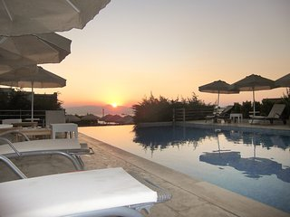 Modern Turkish villa with two swimming pools, gorgeous views, WiFi and access to a private beach. - Akyarlar vacation rentals