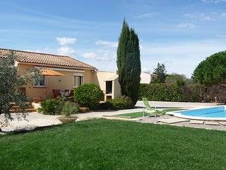 Modern house in Aude, Languedoc-Roussillon, with garden, private pool and WiFi (New for 2016)- sleeps 6 - Saint-Nazaire-d'Aude vacation rentals