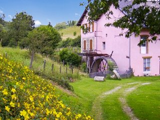 Traditional, 2-bedroom house attached to an antique mill in Chirens with a furnished terrace! - Chirens vacation rentals