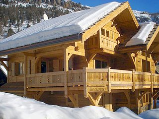 Chalet with 6 rooms in Serre Chevalier, with wonderful mountain view, indoor pool, terrace - Serre-Chevalier vacation rentals