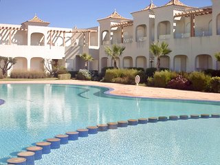 Sunny, 2-bedroom apartment in Mharza Sahel with a terrace and swimming pool – next to the sea! - Dar Bouazza vacation rentals