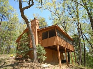 Romantic 1 bedroom Pigeon Forge Cabin with Internet Access - Pigeon Forge vacation rentals