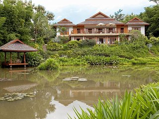 Beautiful Villa with Balcony and Fitness Room - Mae Lao vacation rentals