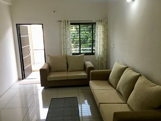 Satvam 1 - Homely 2BR Vacation Rental, Vadodara. - Vadodara vacation rentals