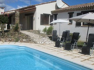 St Genies holiday villa South France with private pool sleeps 6 - St Genies de Fontedit vacation rentals