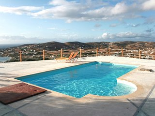 Cycladic-style villa on Paros with 3 bedrooms, sunny terrace, shared swimming pool and sea views - Paros vacation rentals