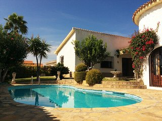 Castillo Blanco – stylish house near beach in Benajarafe, Andalusia, w private pool, BBQ & sea view - Benajarafe vacation rentals