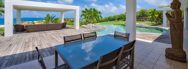 Karukera - Ideal for Couples and Families, Beautiful Pool and Beach - Image 1 - Orient Bay - rentals