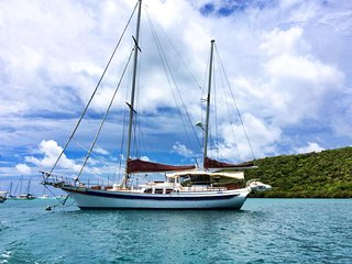 Sailboat Ragamuffin B&B on a yacht all-inclusive - Water Island vacation rentals