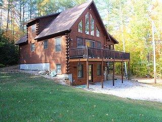 Beautiful Log Cabin with Beach Access(CAM33B) - Sanbornton vacation rentals