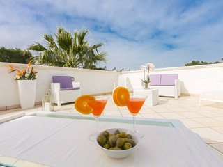 Mediterranea house at 350 m from the beach - Big terrace - Brindisi at 20 km - Specchiolla vacation rentals