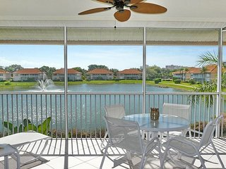 Peaceful condo on lake w/ heated pool, hot tub & short walk to beach - Marco Island vacation rentals