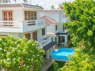 Villa own pool Los Corales Beach, Amali Real Estate - Bavaro vacation rentals