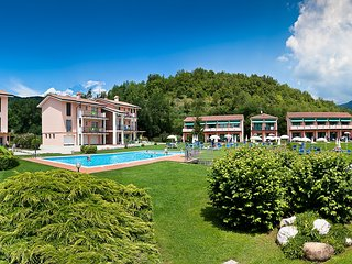 Nice Condo with Shared Outdoor Pool and Television - Garda vacation rentals