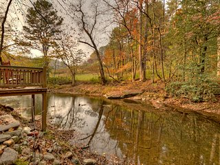1A View of the Creek- Blue Ridge Cabin Rental - Blue Ridge vacation rentals