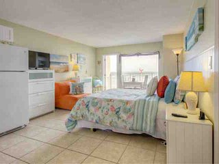 Splendid Direct Ocean Front, Newly Renovated & Decorated Beach Condo Sure to - Daytona Beach vacation rentals