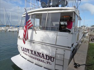 Yacht Lady Xanadu:  Kick Back and Relax on this Fabulous Private Yacht! - Merritt Island vacation rentals