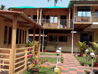 Avelina Guest House Room 1--Garden View - Pololem vacation rentals