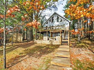 3BR Gaylord House on Private Lake w/ Dock! - Gaylord vacation rentals