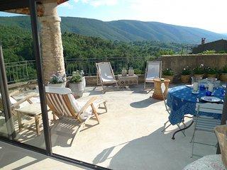 Comfortable 3 bedroom Bonnieux Villa with Washing Machine - Bonnieux vacation rentals