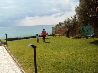 Luxury villa with amazing sea views in complex Sea Dream on the beach . - Mola Kalyva vacation rentals