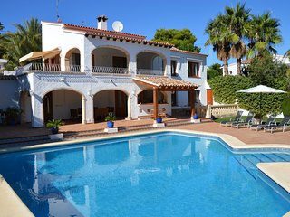 Large Air conditioned villa with designer pool - Moraira vacation rentals