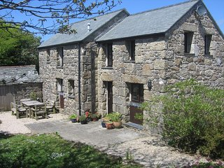 Chycoll Barn - granite barn conversion in an idyllic, rural environment - Sancreed vacation rentals
