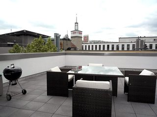 1-Bedroom Furnished Penthouse Stuttgart Center - Stuttgart vacation rentals