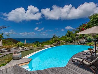Beautiful Villa with Deck and Tennis Court - Anse Marcel vacation rentals