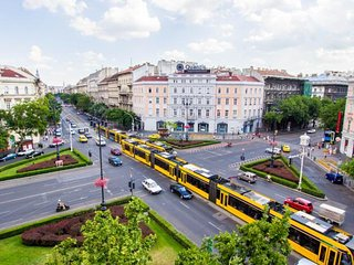 Central Apartment Oktogon - 1-5 pers,  Metro 1 ,  two big rooms - Budapest vacation rentals