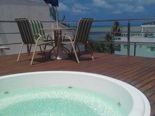 Apartamento decorado na beira mar da praia do Cabo Branco - Joao Pessoa vacation rentals