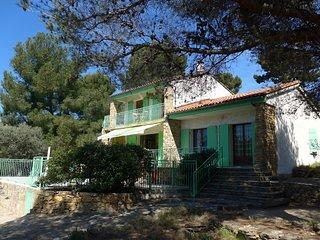 Location Villa Cote d'azur, Ceyreste, La Ciotat, 8 personnes, piscine, vue mer - Ceyreste vacation rentals