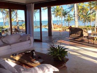 Casa de luxo de frente para a praia - Ponta do Corumbau vacation rentals