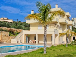 Rose 7 Bedroom Villa in Souda, Chania, Crete - Souda vacation rentals