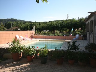 Nice House with Shared Outdoor Pool and Satellite Or Cable TV - Saint-Désirat vacation rentals