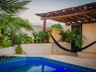 B59-NEW SMALL & DESIGN STUDIO W/ ROOFTOP PLUNGE - Merida vacation rentals