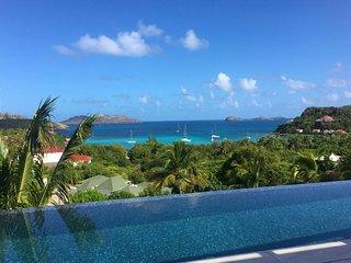 Modern Designer Ocean View St Barts Luxury Villa in St Jean - Saint Jean vacation rentals